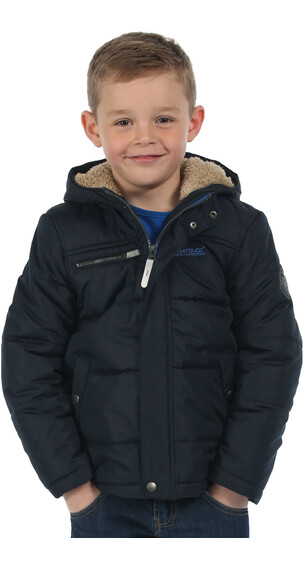 Regatta Zipper II Jacket Boys Navy/Navy